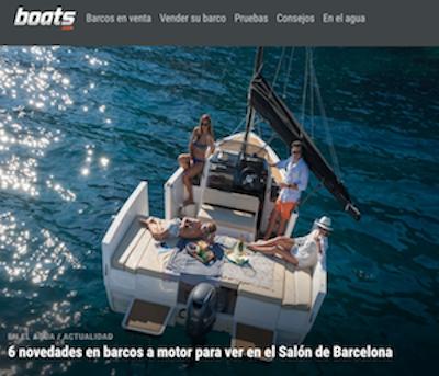 6 novedades en barcos a motor para ver en el Salón de Barcelona