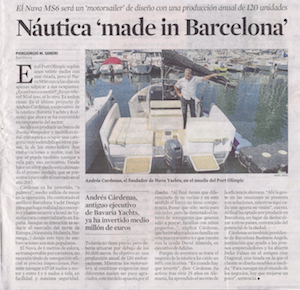 Náutica 'made in Barcelona'