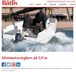 BATLIV - Minimotorseglare på 5,9 m