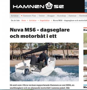 HAMNEN SE -  Nuva MS6 – dagseglare och motorbåt i ett
